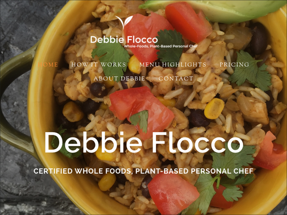 debbie flocco website design