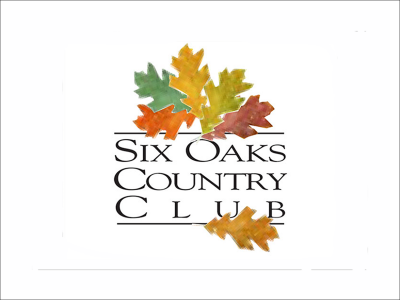 six oaks country club logo design